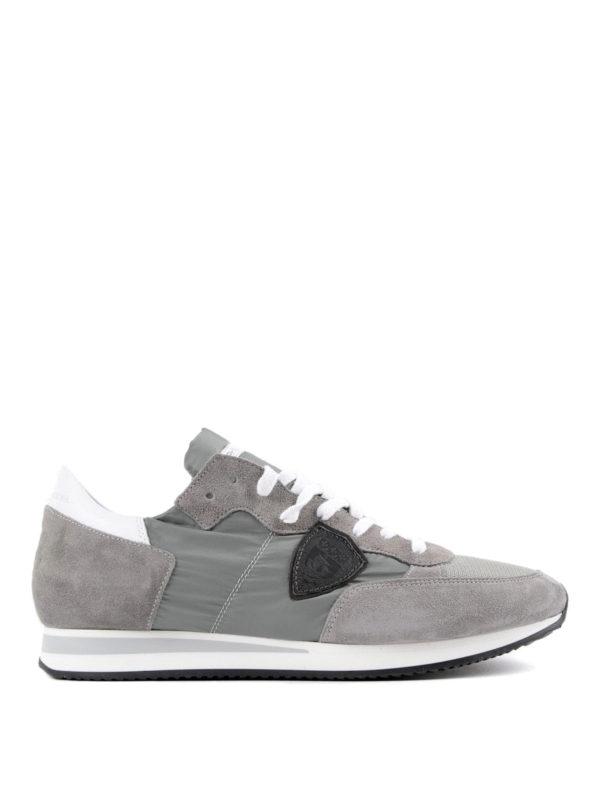 Philippe Model: Sneaker - Sneaker - Hellgrau