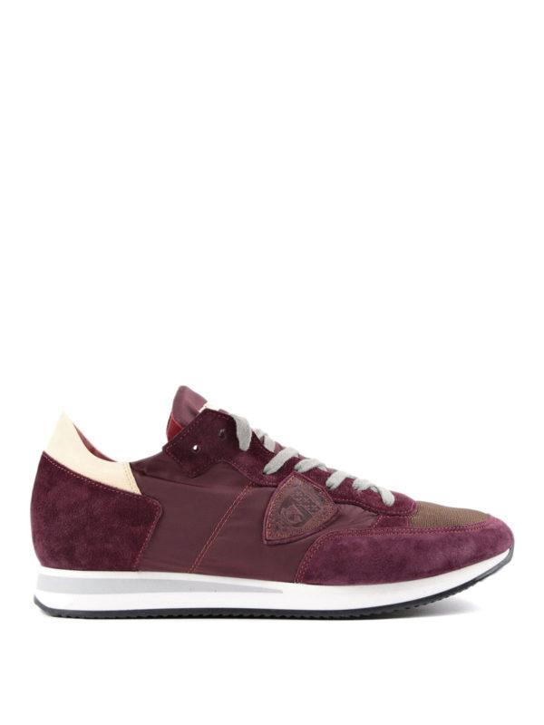 PHILIPPE MODEL: Sneaker - Sneaker - Dunkelrot