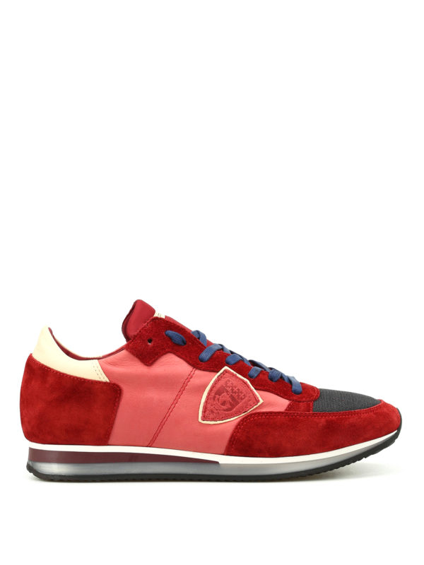 Philippe Model: Sneaker - Sneaker - Hellrot