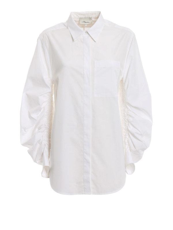 PHILLIP LIM: Hemden - Hemd - Weiß