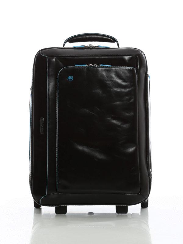 PIQUADRO: Luggage & Travel bags - Brushed calfskin cabin luggage