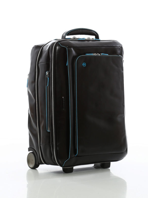 PIQUADRO: Luggage & Travel bags online - Brushed calfskin cabin luggage