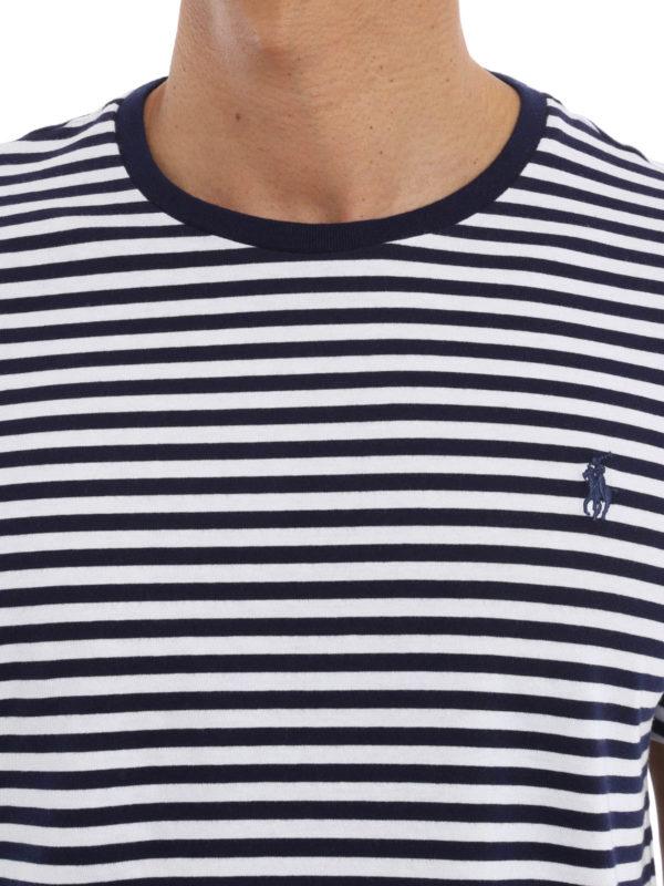 Polo Ralph Lauren Striped cotton T shirt Camisetas