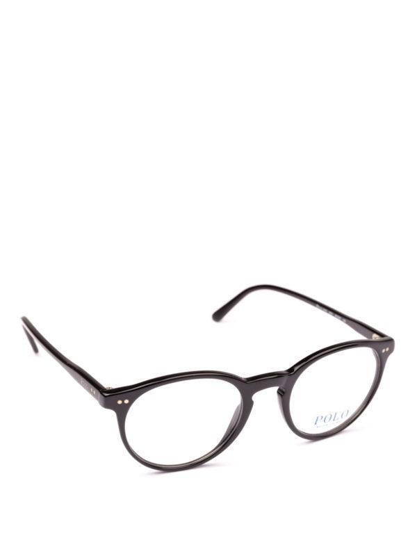POLO RALPH LAUREN: Brillen - Brillen - Schwarz