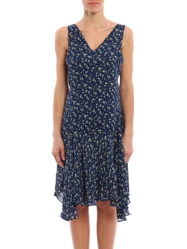 wholesale dealer bc59b 02cf5 Polo Ralph Lauren - Abito smanicato in seta floreale - abiti ...