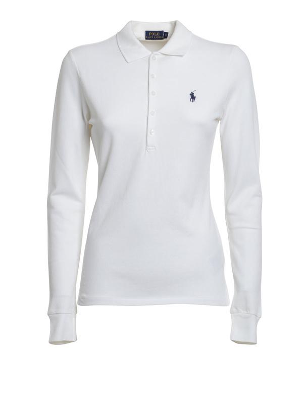 Polo Ralph Lauren - Poloshirt mit langen Ärmeln - Poloshirts - V38 ... d3f7224b24