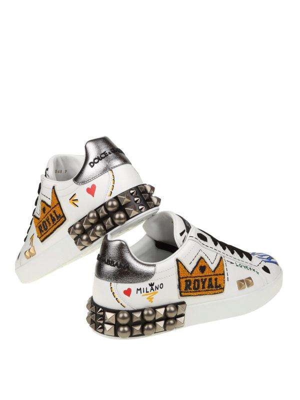 Sneaker - Weiß shop online: DOLCE & GABBANA