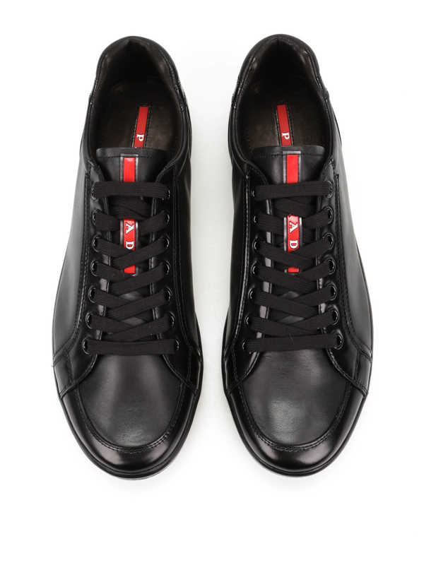 Prada buy online Leather trainers