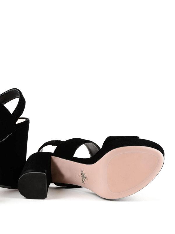 PRADA buy online Sandalen - Einfarbig