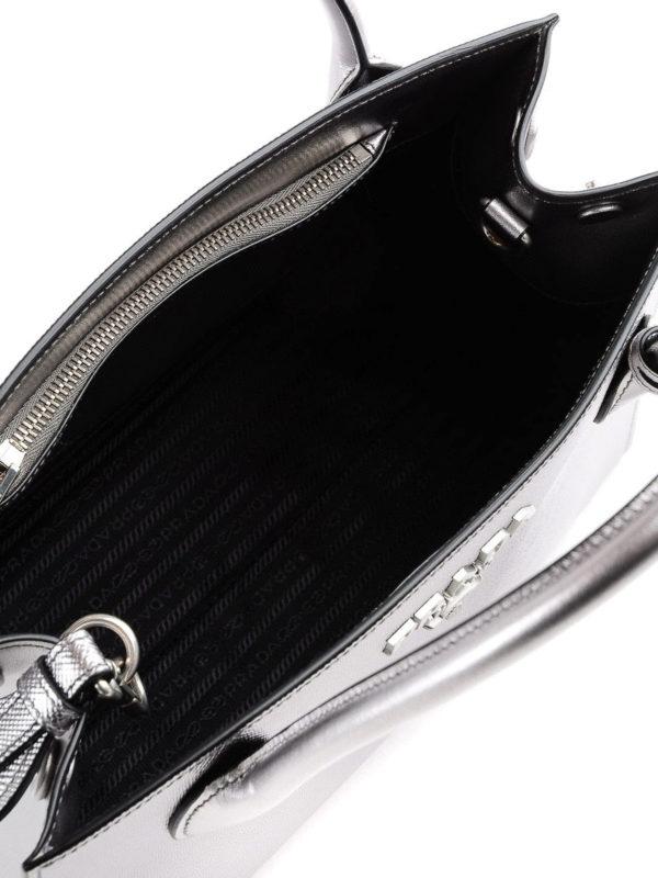 PRADA buy online Shopper - Silber