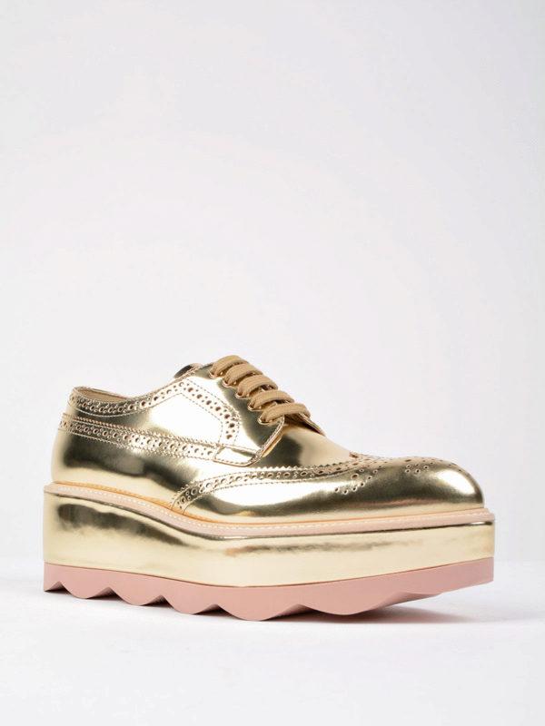 Prada: Schnürschuhe online - Schnürschuhe - Gold