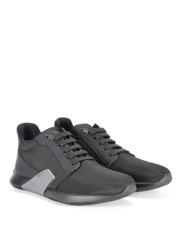 Prada Linea Rossa: Sneaker online - Sneaker - Schwarz