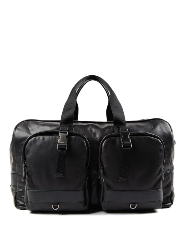Prada: Koffer und Reisetaschen - Reisetasche - Schwarz