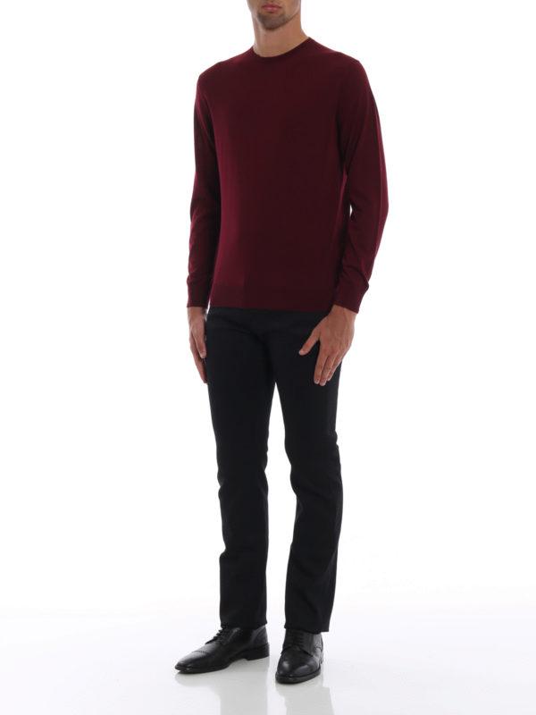 PRADA: Straight Leg Jeans online - Straight Leg Jeans - Schwarz