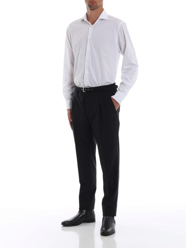 PRADA: Maßgeschneiderte und Formale Hosen online - Formale Hose - Schwarz