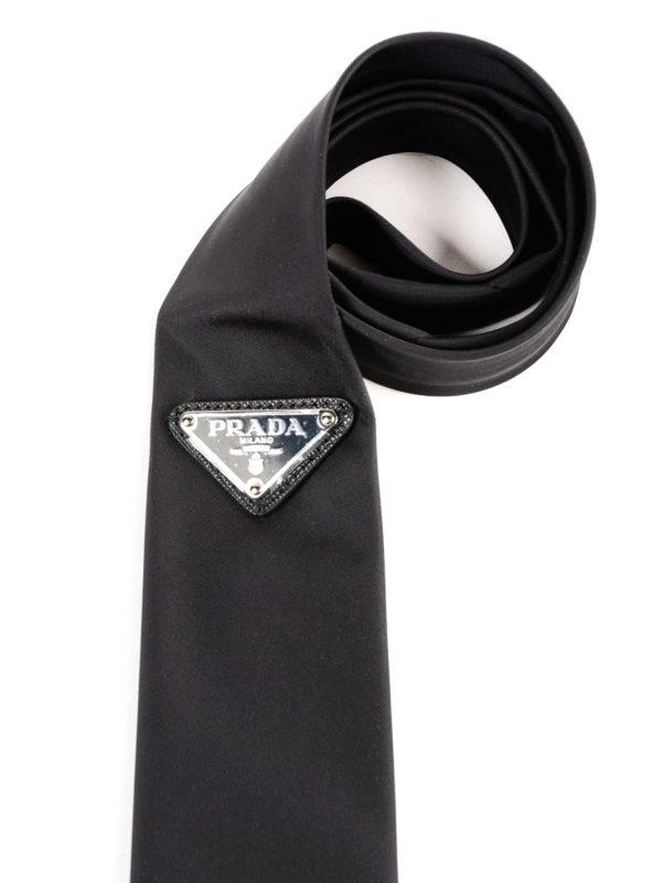 PRADA: Krawatten und Fliegen online - Krawatte - Schwarz