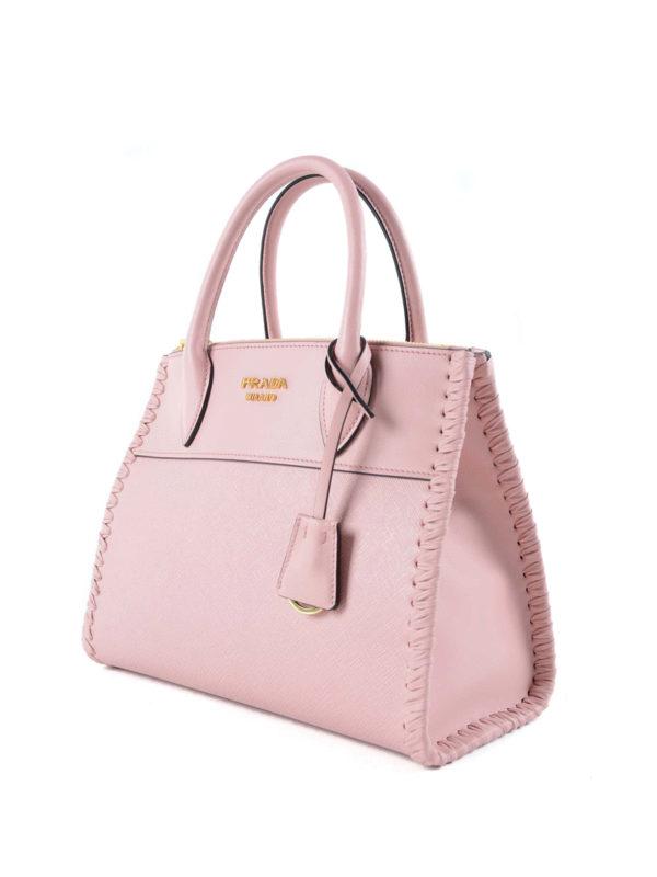 Prada: Handtaschen online - Shopper - Hellrosa