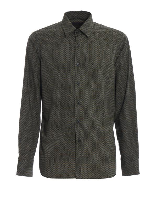 PRADA: Hemden - Hemd - Bunt