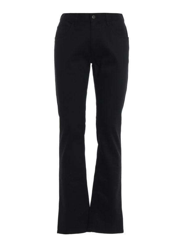 PRADA: Straight Leg Jeans - Straight Leg Jeans - Schwarz