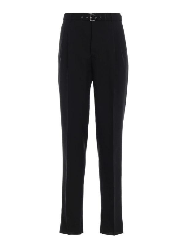 PRADA: Maßgeschneiderte und Formale Hosen - Formale Hose - Schwarz