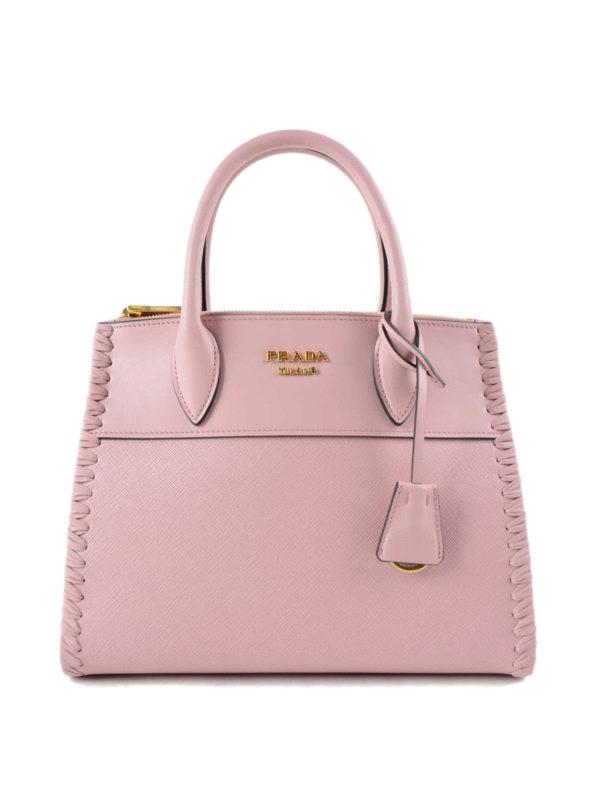 Prada: Handtaschen - Shopper - Hellrosa