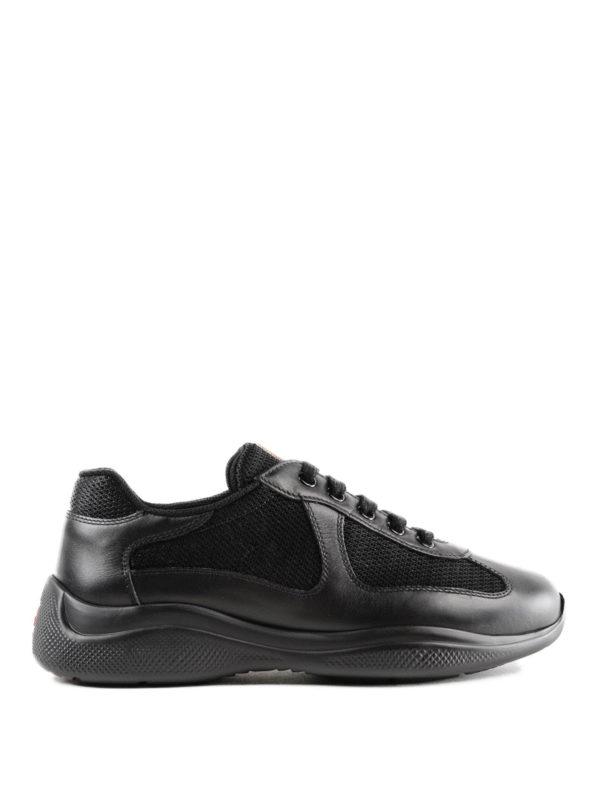 PRADA: Sneaker - Sneaker - Schwarz