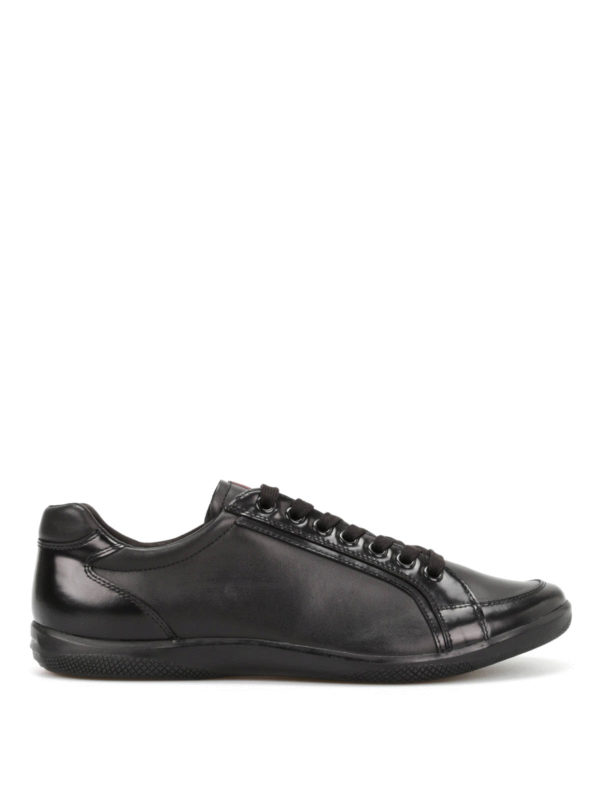 Prada: trainers - Leather trainers