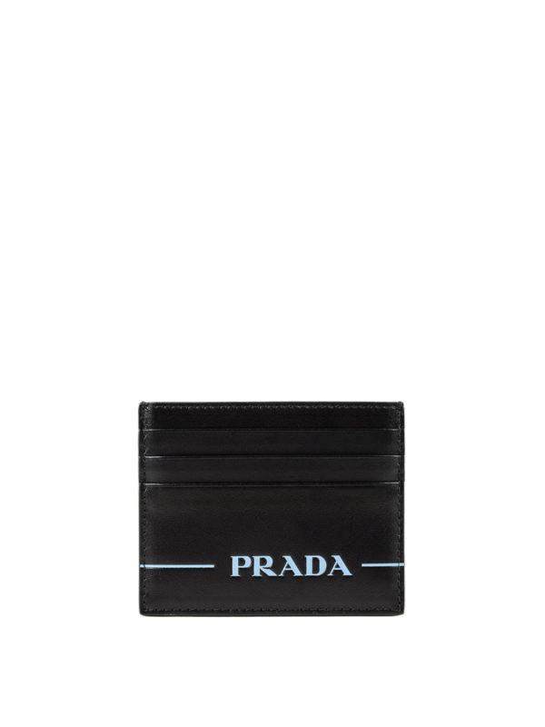PRADA: Portemonnaies und Geldbörsen - Portemonnaie - Schwarz
