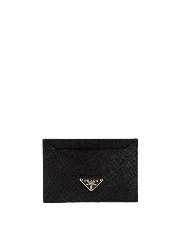 36352b50328e51 Prada - Saffiano leather card holder - wallets & purses - 1MC208 QHH 632