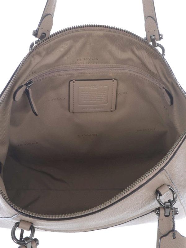 Coach Shopper Beige Handtaschen 58874 DKSTN