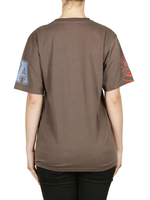 T-Shirt - Hellbraun shop online: J.W. ANDERSON