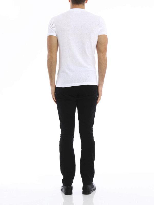 Printed cotton T-shirt shop online: Dsquared2