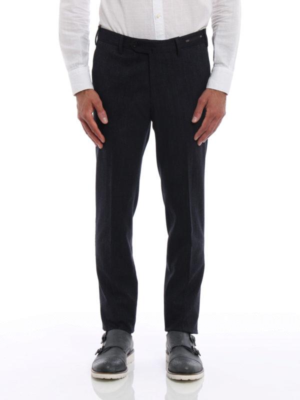 Pt 01: Maßgeschneiderte und Formale Hosen online - Formale Hose - Dunkelblau
