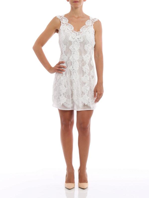 Kurzes Kleid - Weiß shop online: Ermanno Scervino