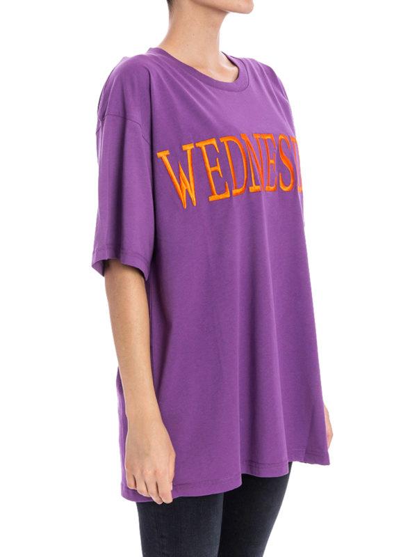 T-Shirt - Lila shop online: Alberta Ferretti