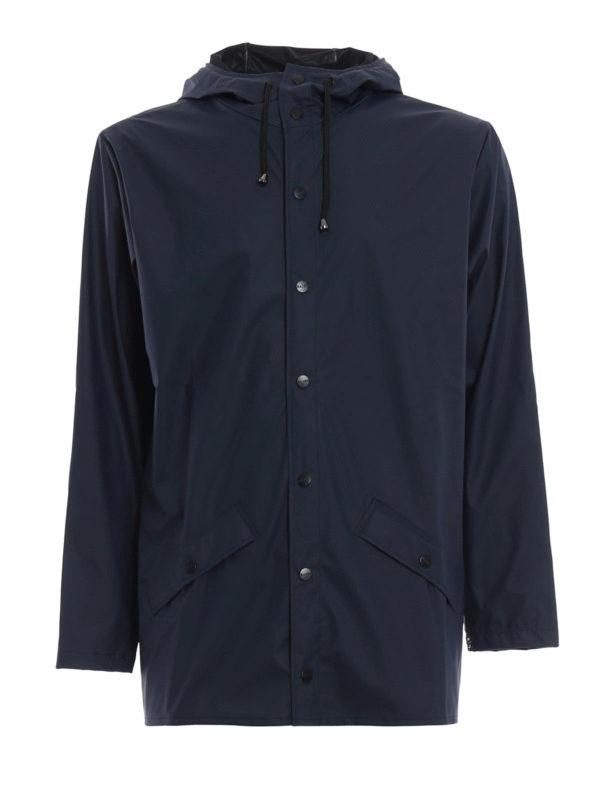 Rains: parkas - Waterproof Four Pocket Jacket