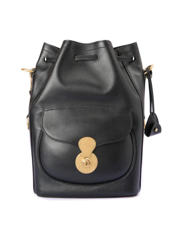 c0af29dc2142 Ralph Lauren - Leather bucket bag - Bucket bags - 69H ITP37 RAPPA A0001