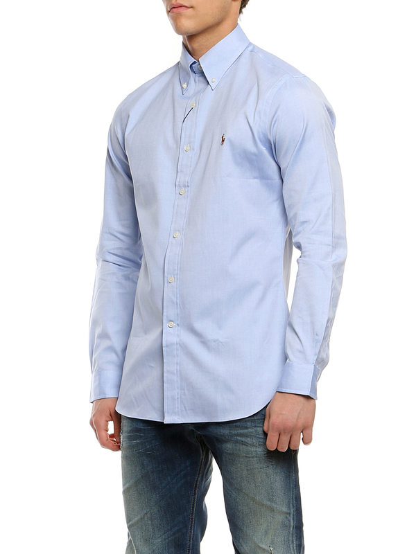 Ralph Lauren buy online Popeline cotton shirt