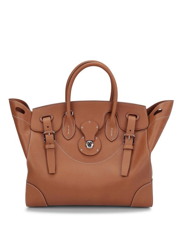 Ralph Lauren buy online Soft Ricky 33 leather bag