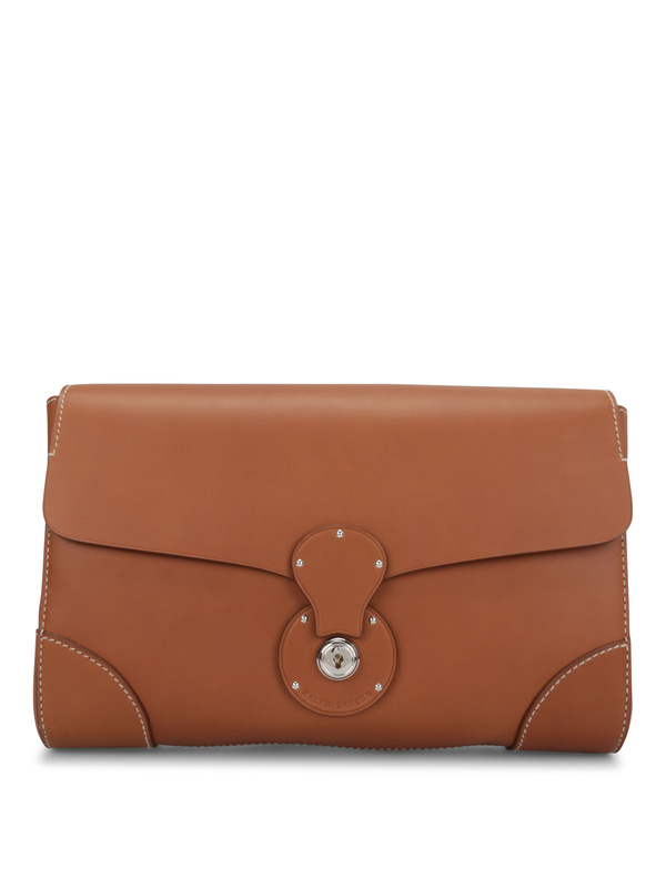Ralph Lauren: clutches - Saddle Calfskin Ricky Clutch