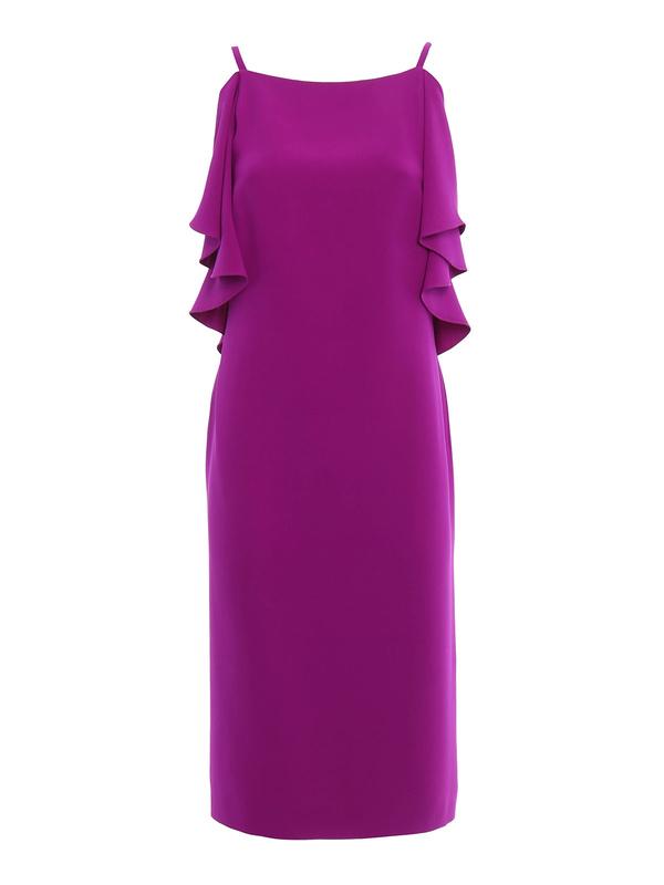 Charlotte silk mini dress de Ralph Lauren - Vestidos de cóctel ...