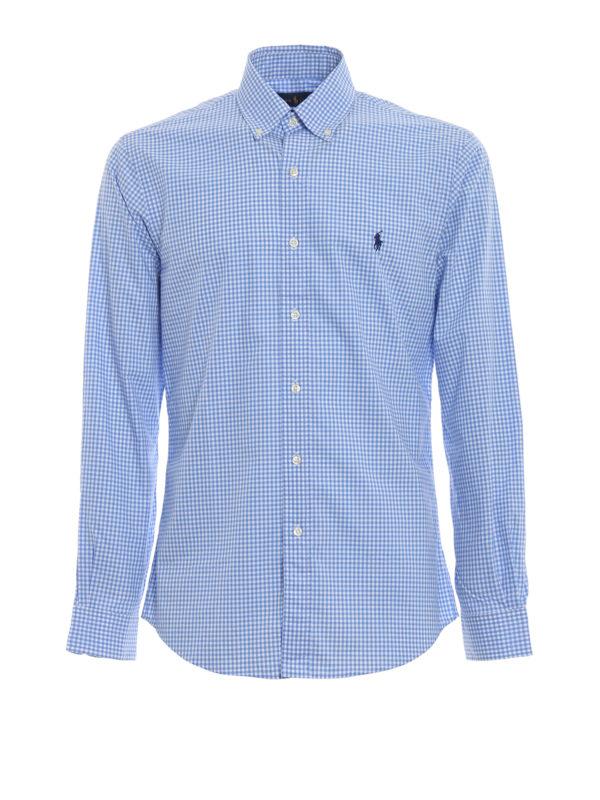 RALPH LAUREN: Hemden - Hemd - Hellblau