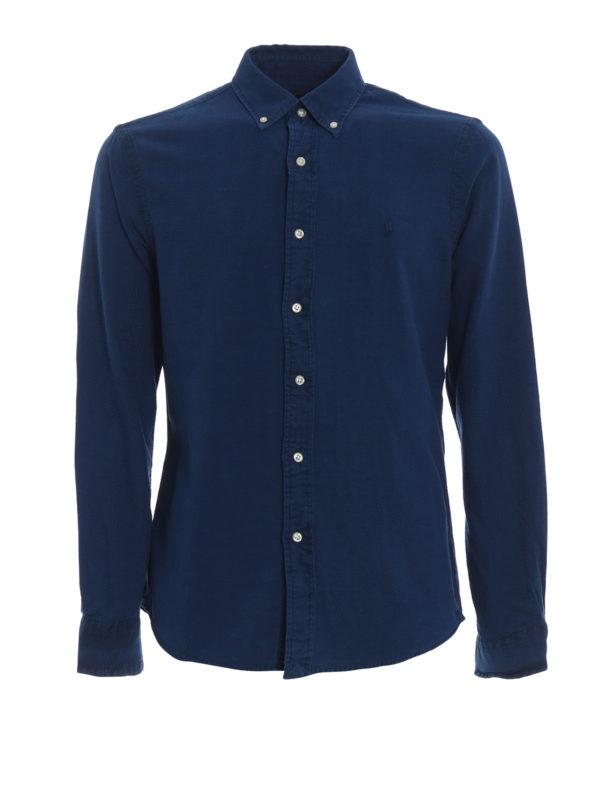 RALPH LAUREN: Hemden - Hemd - Blau