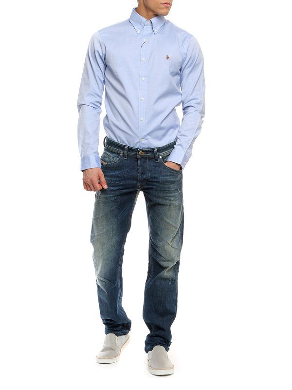 Ralph Lauren: shirts online - Popeline cotton shirt
