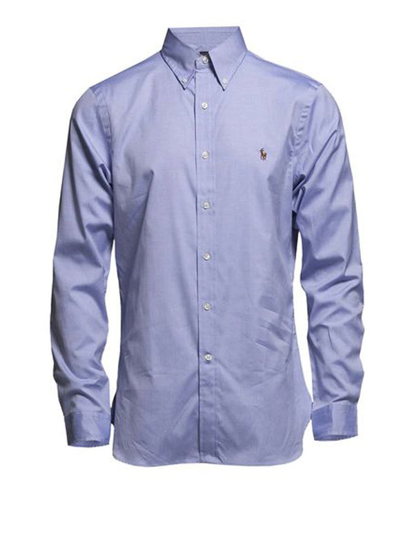 Ralph Lauren: shirts - Popeline cotton shirt