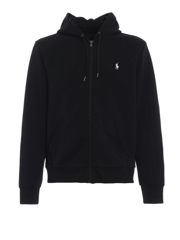 RALPH LAUREN: Sweatshirts und Pullover - Sweatshirt - Schwarz