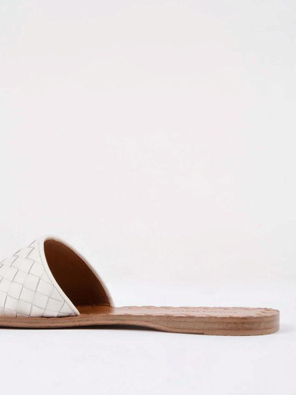Sandalen - Weiß shop online: BOTTEGA VENETA