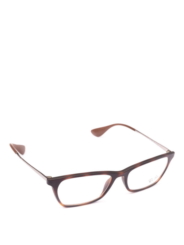 RAY-BAN: Brillen - Brillen - Braun