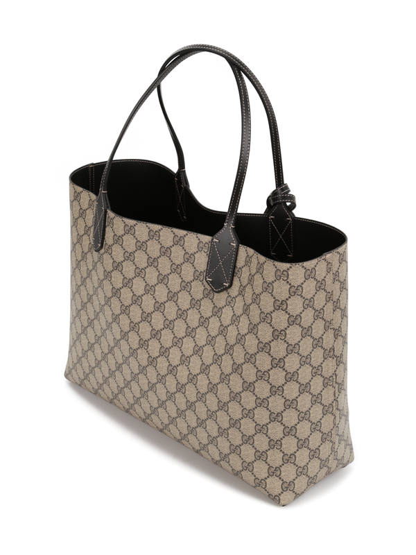 Reversible GG leather tote shop online: Gucci
