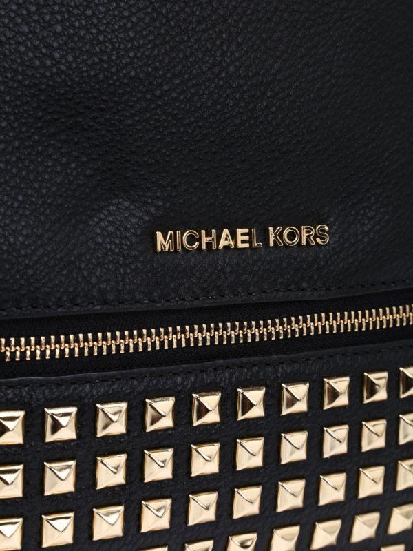 Rhea medium studded backpack shop online: MICHAEL KORS